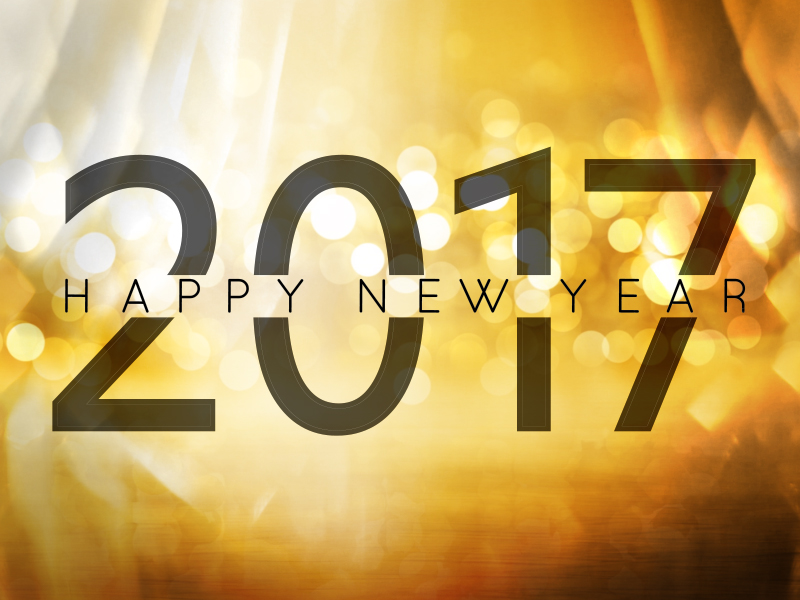 GOLDEN NEW YEAR 2017 MOTION