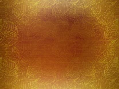 GOLD LEAVES ORANGE MOTION
