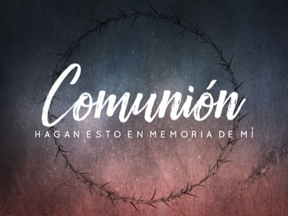 GOOD FRIDAY THORNS COMMUNION MOTION - SPANISH