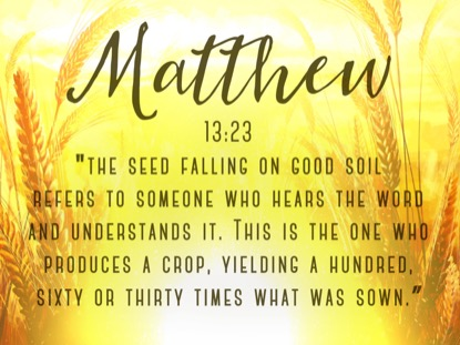 HARVEST SOWING MATTHEW MOTION