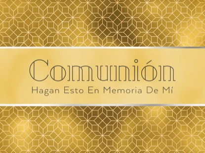 NEW YEAR DECO COMMUNION MOTION - SPANISH