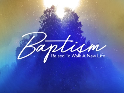 ONLY CHRIST BAPTISM MOTION