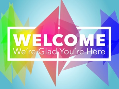 OVER THE RAINBOW WELCOME MOTION