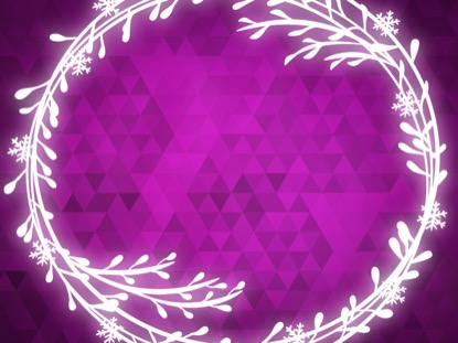 PEACEFUL ADVENT PINK 2 MOTION