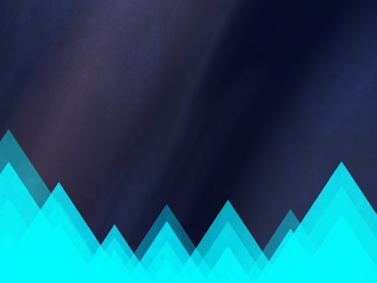 RISING TRIANGLES BLUE MOTION