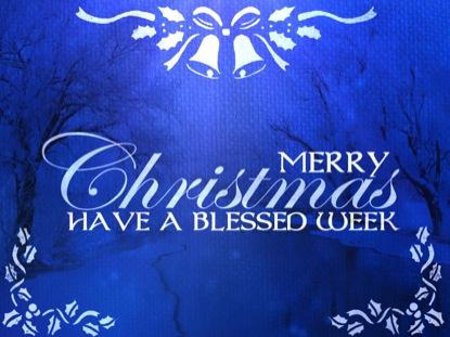 SAPPHIRE CHRISTMAS GOODBYE