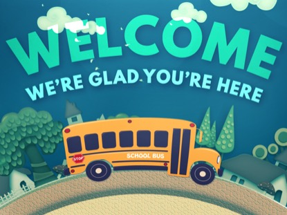 SCHOOL BUS WELCOME MOTION