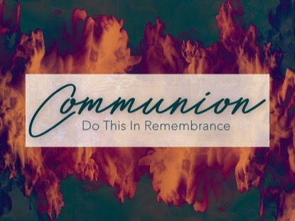 SPIRIT OF PENTECOST COMMUNION MOTION