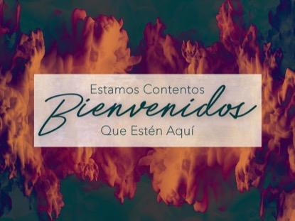 SPIRIT OF PENTECOST WELCOME MOTION - SPANISH