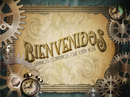 STEAMPUNK WELCOME MOTION - SPANISH