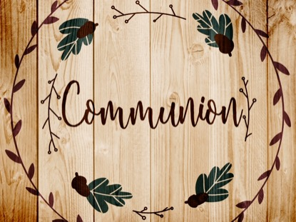 THANKSGIVING ART COMMUNION MOTION