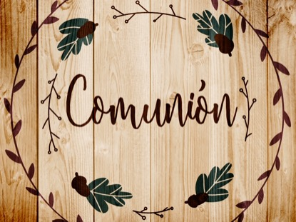 THANKSGIVING ART COMMUNION MOTION - SPANISH