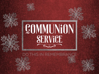 TRENDY CHRISTMAS COMMUNION MOTION