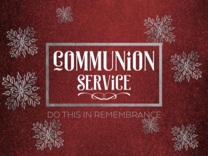 TRENDY CHRISTMAS COMMUNION MOTION
