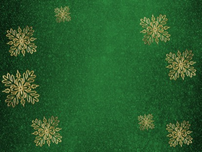 TRENDY CHRISTMAS GREEN MOTION
