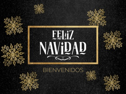 TRENDY CHRISTMAS MERRY MOTION - SPANISH