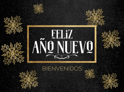 TRENDY CHRISTMAS NEW YEAR MOTION - SPANISH