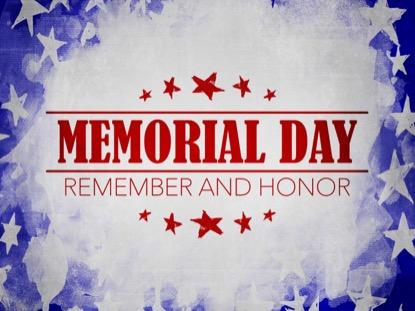 USA HOLIDAY GRUNGE MEMORIAL MOTION