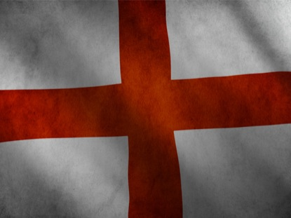 ENGLAND FLAG MOTION