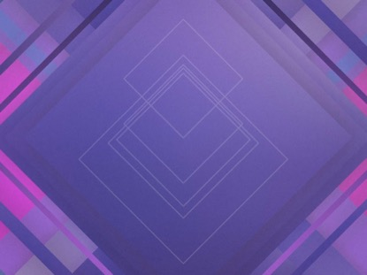 ABSTRACT SQUARES PURPLE