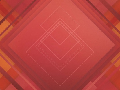 ABSTRACT SQUARES RED