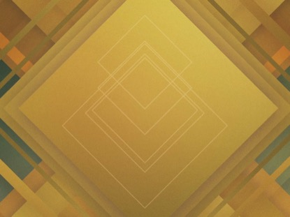 ABSTRACT SQUARES YELLOW