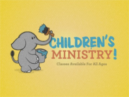 CHILDRENS MINISTRY ELEPHANT