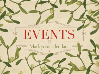 CHRISTMAS BOTANICAL EVENTS