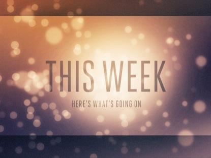 CHROMATIC BOKEH THIS WEEK