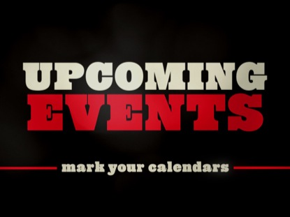 CLEAN DARK UPCOMING EVENTS