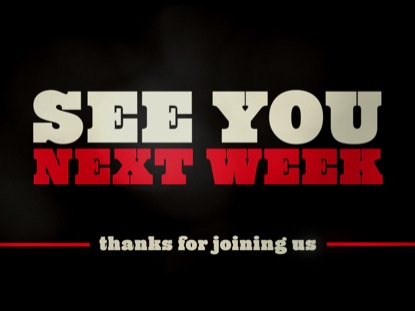 Clean Dark See You Next Week | Graceway Media ...