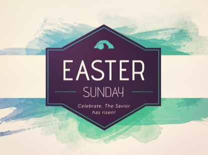 EASTER WATERCOLOR: EASTER SUNDAY