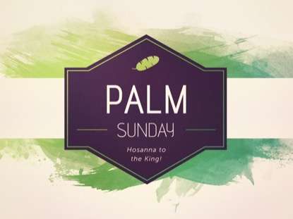 EASTER WATERCOLOR: PALM SUNDAY