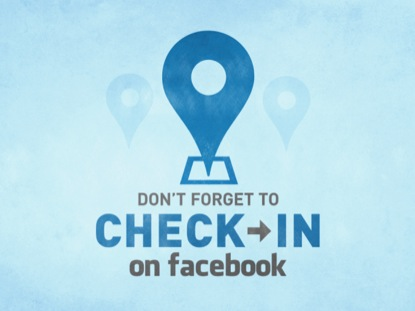 FACEBOOK CHECK IN
