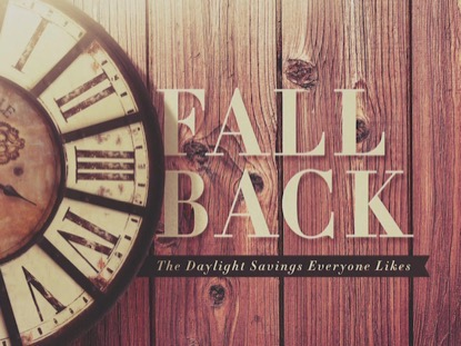 FALL BACK OLD CLOCK