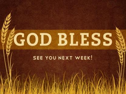 GOD BLESS WHEAT FIELD