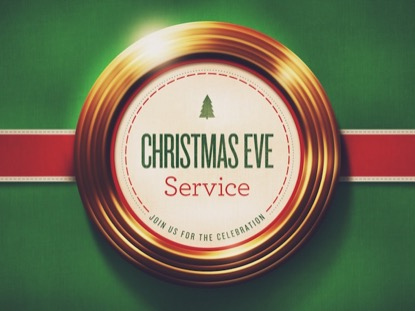 GOLDEN RINGS CHRISTMAS EVE SERVICE