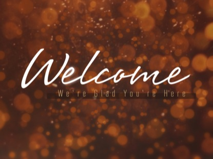 GOLDEN WELCOME BOKEH
