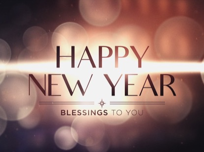 HOLIDAY BOKEH HAPPY NEW YEAR