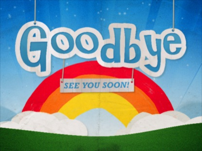Kids Church Goodbye | Graceway Media | Motion Backgrounds ...