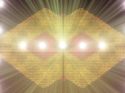 LED BILLBOARD WARM