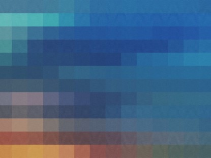 COLOR SQUARES BLUE LOOP