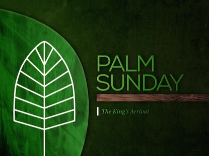 MIXED TEXTURES PALM SUNDAY