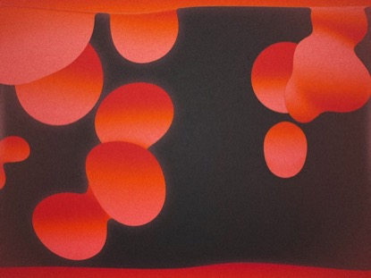 LAVA LAMP RED MOTION