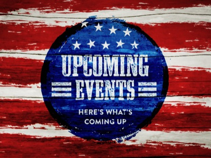 PAINTED STRIPES UPCOMING EVENTS