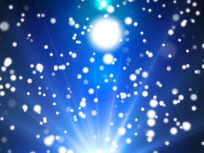 PARTICLE LIGHTS BLUE
