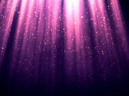 PARTICLES IN LIGHT PURPLE