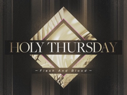 PHOTO DIAMOND: HOLY THURSDAY