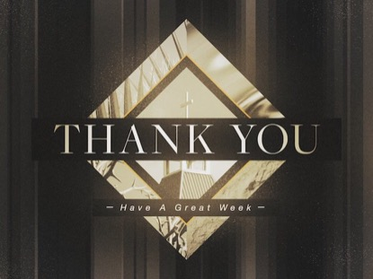 PHOTO DIAMOND: THANK YOU