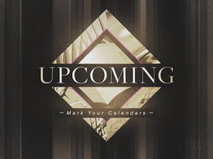 PHOTO DIAMOND: UPCOMING